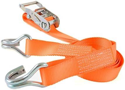 ラッシングベルト 35mm幅 Jフック ×3m 固定側 1.0m