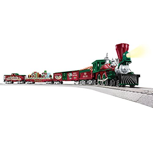 Model Trains Gauge O (Lionel Mickey's Holiday to Remember Disney Christmas Train Set - O-Gauge)
