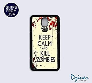 Galaxy Note 3 Case - Keep Calm Kill Zoombies