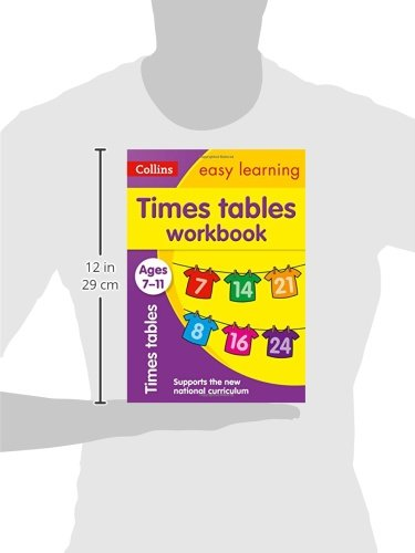Collins Easy Learning Age 7-11 — Times Tables Workbook Ages 7-11 ...