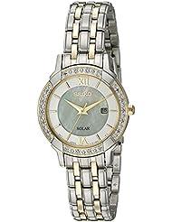 Seiko Womens Sport Watches Quartz Stainless Steel Dress Watch (Model: SUT278)
