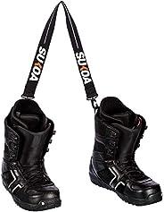 Sukoa Ski and Snowboard Boot Carrier Strap - Men & Women - Shoulder Sling Leash Also for Ice Skates &