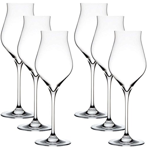 Stoelzle White Wine Glasses - Set Of 6 - Flame