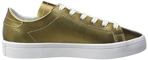 Footwear Mujer Zapatillas Metallic Adidas Dorado Courtvantage para Metallic White Copper Copper 1Owaz4q