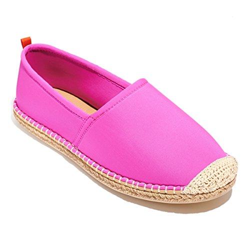 Zeester Beachwear Vrouwen Espadrille Water Schoenen Hot Pink
