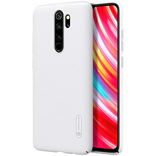 Nillkin Case For Xiaomi Redmi Note 8 Pro 6 53 Inch Super Frosted Hard Back Cover Pc White Color Amazon In Electronics