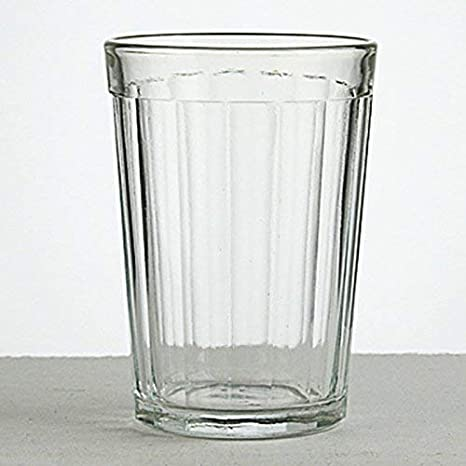Suitable for Hot /& Cold Beverages 1 fits Metal Holder Podstakannik Vintage USSR Soviet Era Drinkware Gus-Khrustalny Russian Classic 20-Facet Granyonyi Hot Tea Glass 8.5 Oz Break Resistant