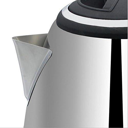 QMMCK Elettrodomestico Bollitore Elettrico della Famiglia dell'Acciaio Inossidabile con Funzione di spegnimento Automatico Bollitore di Riscaldamento rapido dell'Acqua Calda