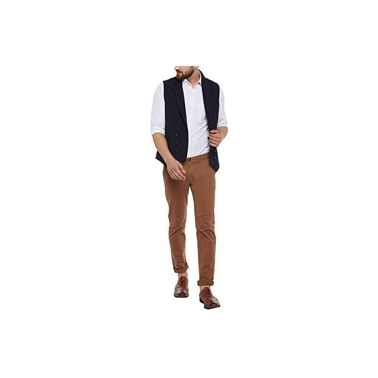 41rBQayArOL. SS768  - HYPERNATION Men's Nehru Jackets Waistcoat