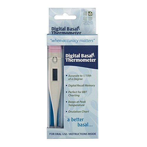 digital basal thermometer - 3