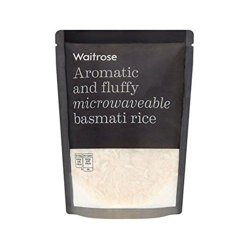 Microwavable Basmati Rice Waitrose 250g - Pack of 6 by WAITROSE