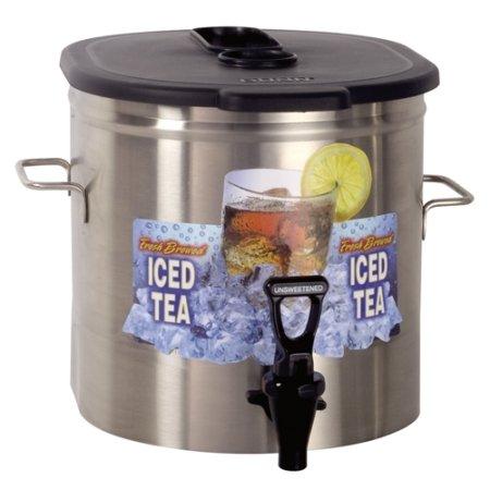 Bunn TDO-3.5 3.5 Gallon Iced Tea Dispenser - Low Profile (Bunn 37100.0000)