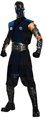 UHC Men's Tv & Movie Characters Subzero Theme Party Fancy Costume, One Size
