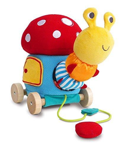 楽天 Little Little Bird Along Told Me Toadstool Acivity Pull Toadstool Along Toddler Toy [並行輸入品] B07HLHG9S3, ナルトウマチ:8c86ec57 --- a0267596.xsph.ru