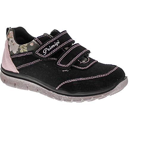 Primigi Girls Dary Designer Fashion Glitz Sneakers,Black,30