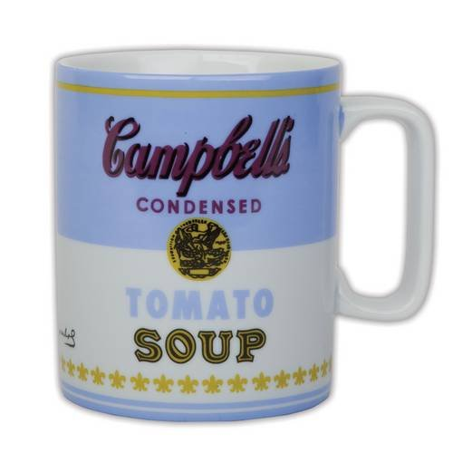 Collection Andy Warhol (Andy Warhol Campbell's Soup Blue Mug)