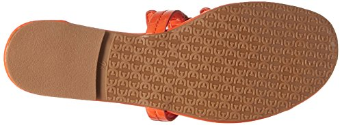 Sam Edelman Women's Carter Flat Sandal Tangelo Patent sale discount discount visit new Nv0haRw8E