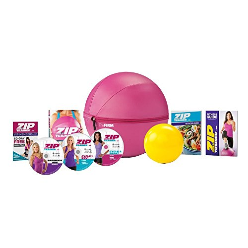 The Firm Zip Trainer Medicine Ball Kit by The Firm
