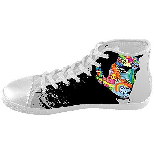 [DONGMEN Custom Unisex Elvis Presley High Top Kid's Canvas Shoes Girls Boys] (Young Elvis Presley Costumes)