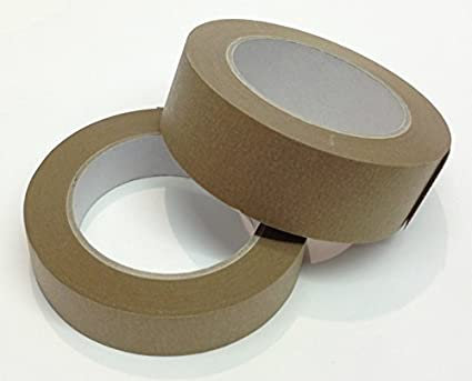 1xRoll  of BT38 Brown Paper Framers Masking Tape 38mm x 50meters Framers Corner