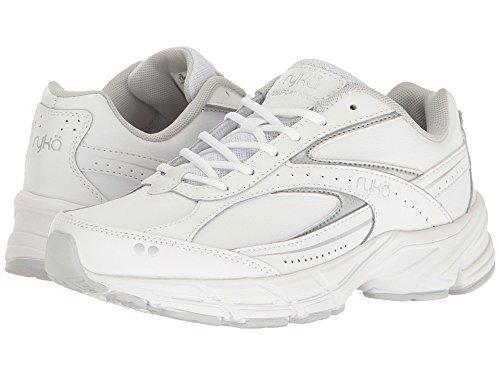 Ryka Women's Comfort Walk White/Grey/Silver 9.5 B US by Ryka