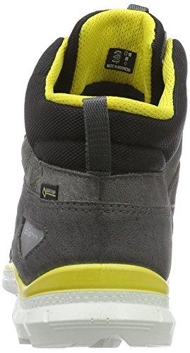 Ecco ECCO BIOM TRAIL KIDS - Zapatillas De Deporte Para Exterior de piel niños Gris (DARK SHADOW/WHITE58431)