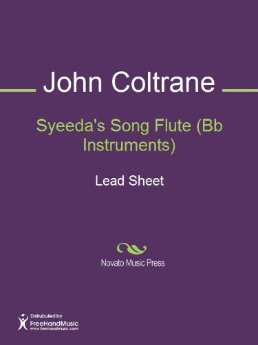 Syeeda's Song Flute (Bb Instruments) Sheet Music (Lead Sheet)