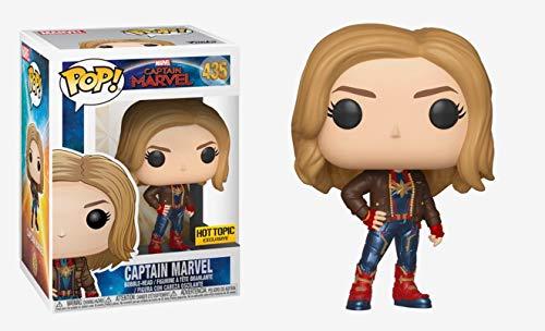 (POP! Funko Captain Marvel Exclusive)