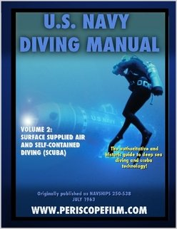 U.S. Navy Diving Manual Volume 2 Surface Supplied Air for sale  Delivered anywhere in USA