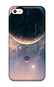 Wno-139HqZdGNGD Anti-scratch Case Cover DeaneRipman Protective Falling Planet Case For Iphone 5/5s