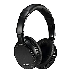 AUSDOM Wireless Bluetooth Over Ear Headphones with microphone Lightweight Stereo Deep Bass And Volume Control for Pc Iphone Android Tv Hands-free Calling Headset