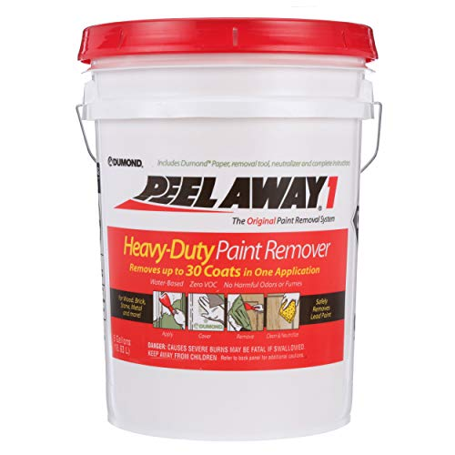 Dumond Chemicals, Inc. 1005N Peel Away1 Heavy-Duty Paint Remover, 5 Gallon - 5 Latex Remover Paint