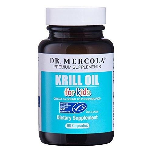 Mercola Krill Oil Kids - 60 Capsules by Dr. Mercola