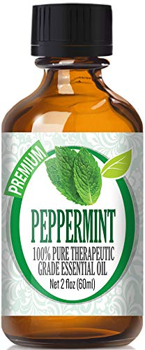 Peppermint Essential Oil - 100% Pure Therapeutic Grade Peppermint Oil - 60ml
