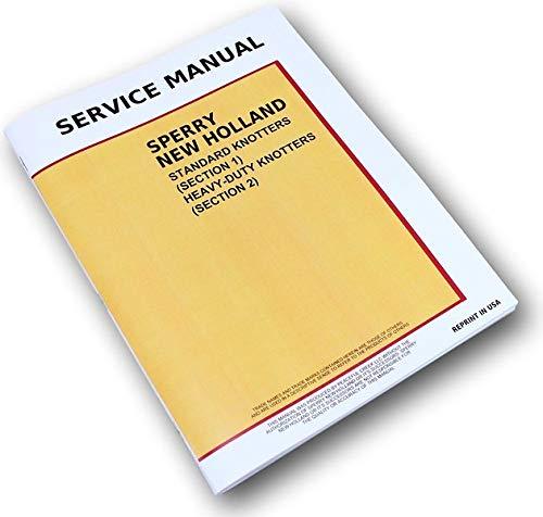 New Holland 273 276 277 275 Square Baler Knotter Service Repair Shop - Shop Service