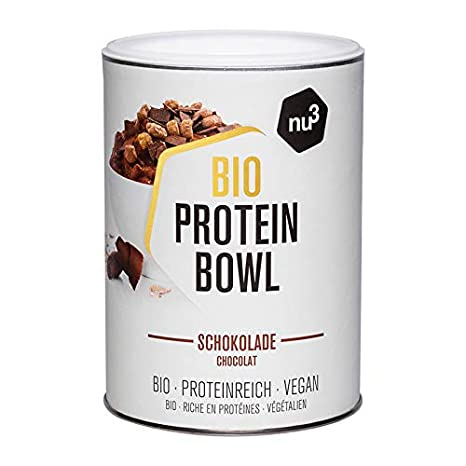 nu3 Protein Bowl orgánico sabor chocolate | 300g de gachas ...