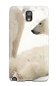 New Arrival Case Cover With YwmftVJ2896PVOcN Design For Galaxy Note 3- Polarbears