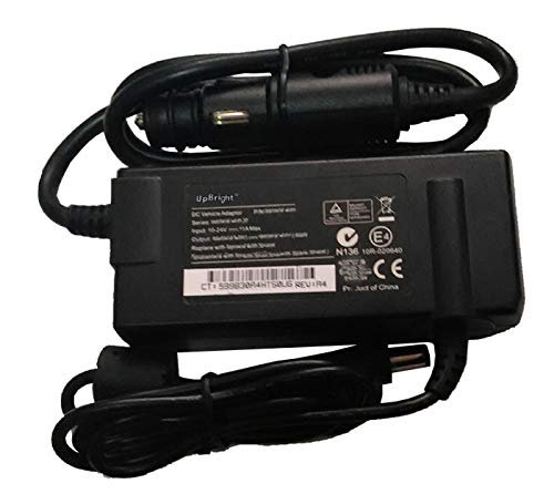 UpBright New Car DC Adapter Replacement for Amperor ADP-90DCA P/N ADP90DCA-5525I Dynamics Itronix 50-0141-006R GD6000 IX605 VR-2 VR-1 Getac V110 F110 T800 RX10 S400 S410 B300 Laptop PC 5400 5410 ()