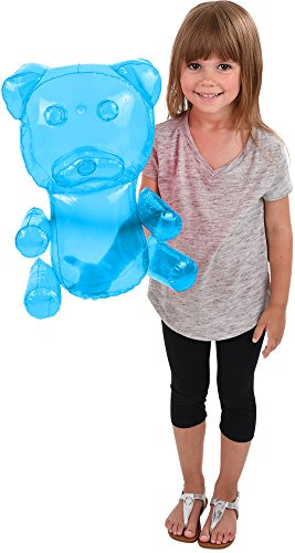 Candy Gummy Bear Costumes - BlockBuster Costumes Delicious Candy Large Blue