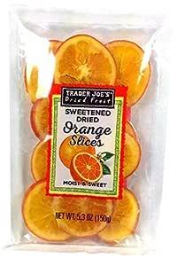 Trader Joe's Sweetened Dried Orange Slices-SET OF 4