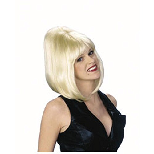 Blonde Bouffant Costume Wig -