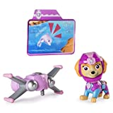 Toys : Paw Patrol Sea Patrol – Light Up Skye Figure with Pup Pack and Mission Card