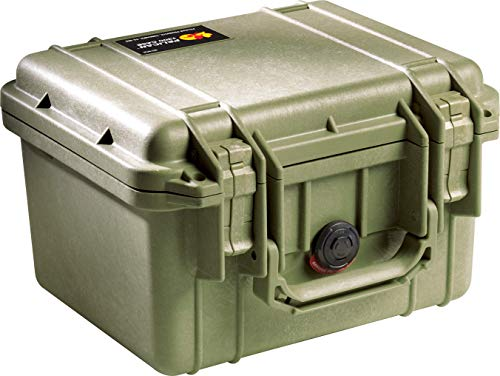 - Pelican 1300 Case with Foam (OD Green)