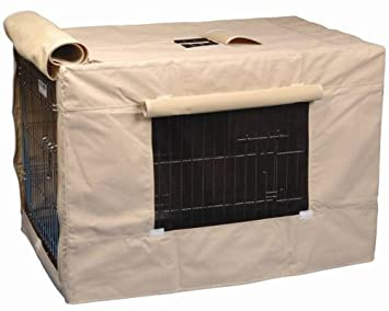 Amazon.com : Precision Pet Indoor Outdoor Crate Cover for Size ...