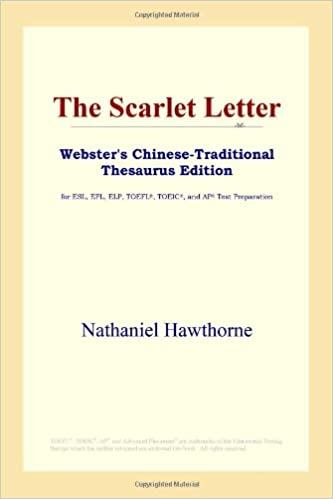 The Scarlet Letter Webster's Chinese-Traditional Thesaurus