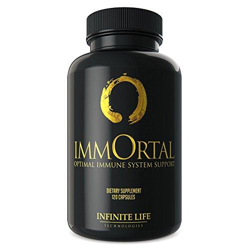 Cheap Immune Support Immortal with Vitamin C, Tumeric& Selenium for Optimal Immune System Support, Keto Diet Supplement – 120 Capsules