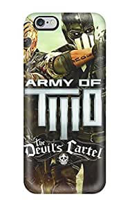 New CaseyKBrown Super Strong Army Of Two The Devil's Cartel 2013 Tpu Case Cover For Iphone 6 Plus