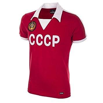 COPA Football - Camiseta Retro CCCP (URSS) años 1980: Amazon.es: Deportes y aire libre