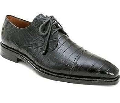 Mezlan Men's Cotto Shoes,Black Genuine Alligator,10 M US
