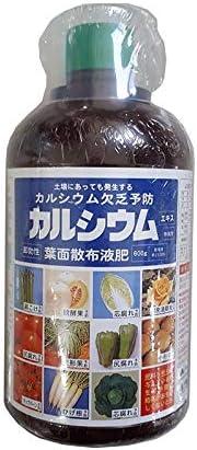 [24本] カルシウム 500cc アミノール化学 カルシウム欠乏予防 即効性葉面散布液肥 濃縮液体肥料 活力液肥 液体肥料 液肥 タ種 代不